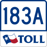 Texas Toll Road 183A