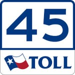 Texas Toll Road 45