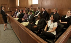 Courtroom Jury