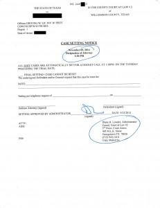 Designation of Attorney