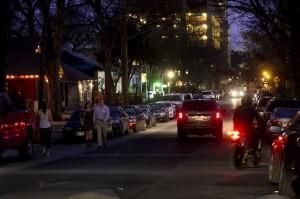 Rainey Street in Austin