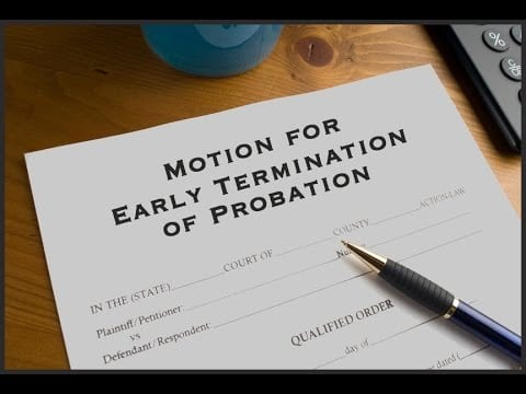 Length of Probation and Early Termination