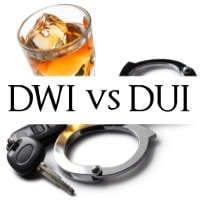 What's The Difference Between DUI and DWI in Texas?